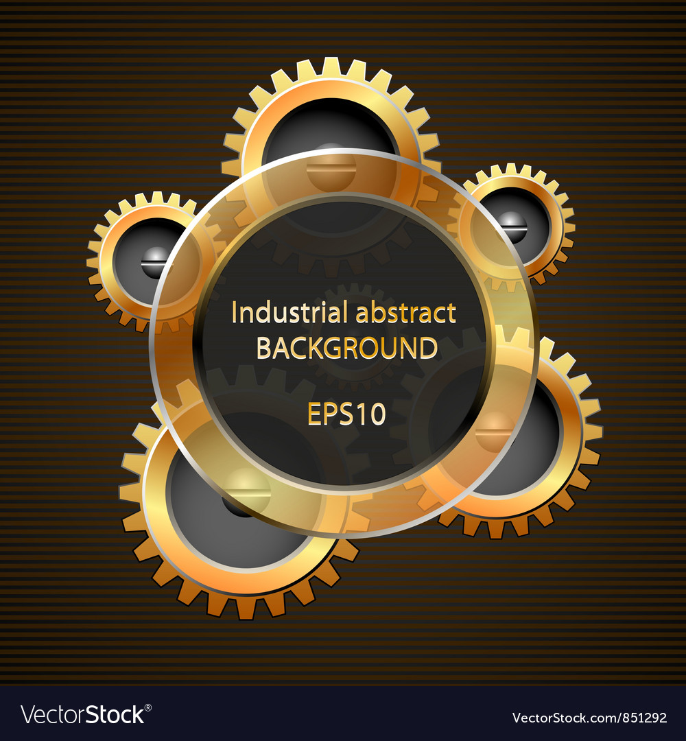 Industrial abstract background vector | Price: 1 Credit (USD $1)