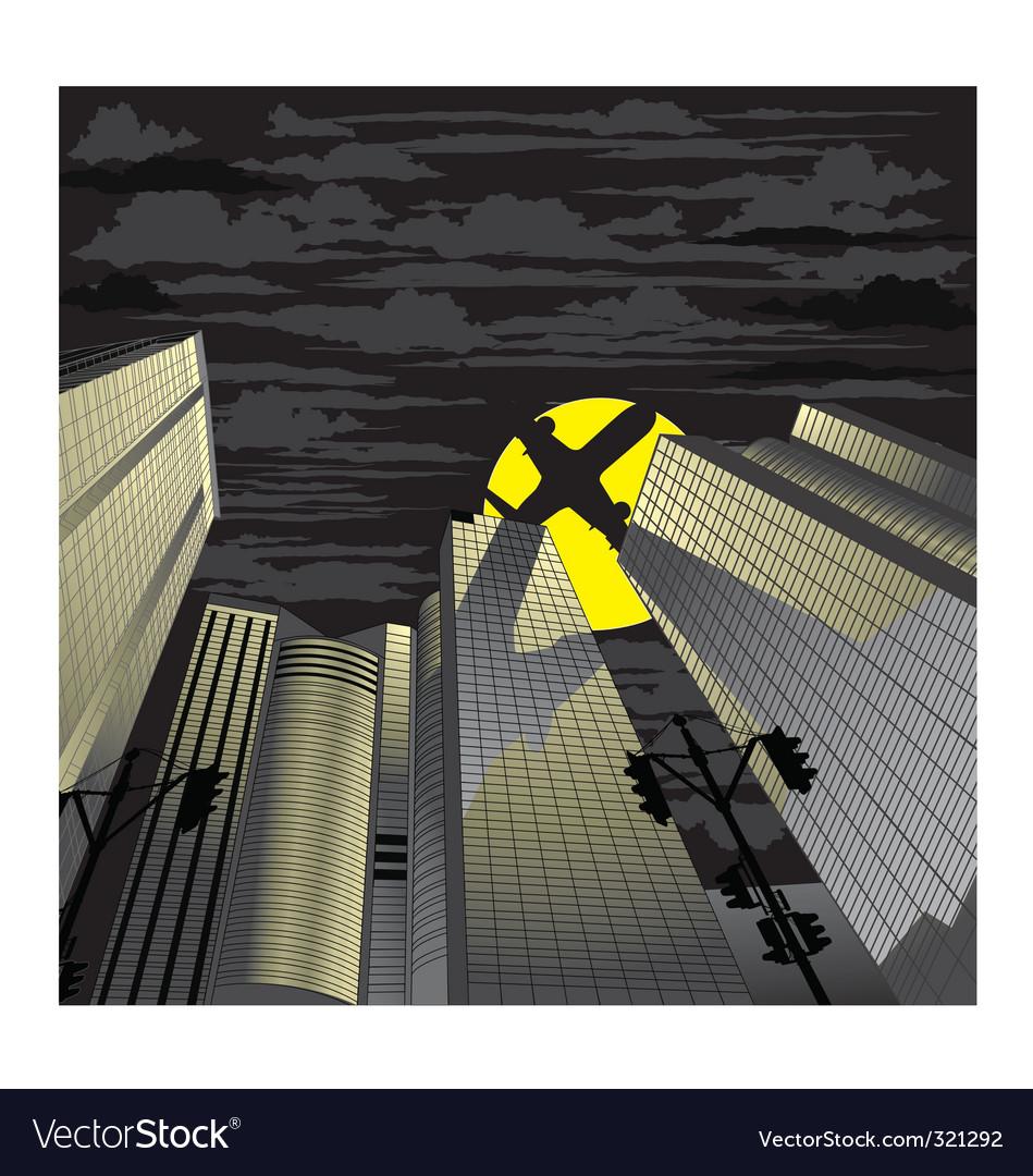 Skyscraper vector | Price: 3 Credit (USD $3)