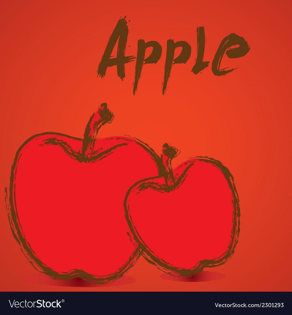 Apple design vector | Price: 1 Credit (USD $1)