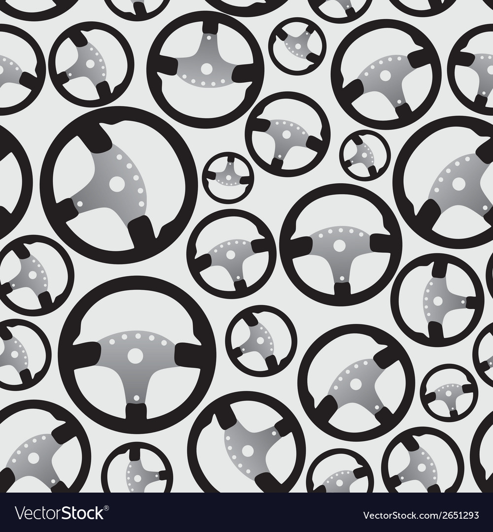 Steering wheel pattern eps10 vector | Price: 1 Credit (USD $1)