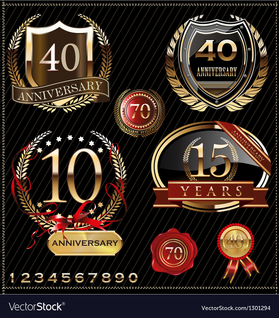 Anniversary design vector | Price: 1 Credit (USD $1)