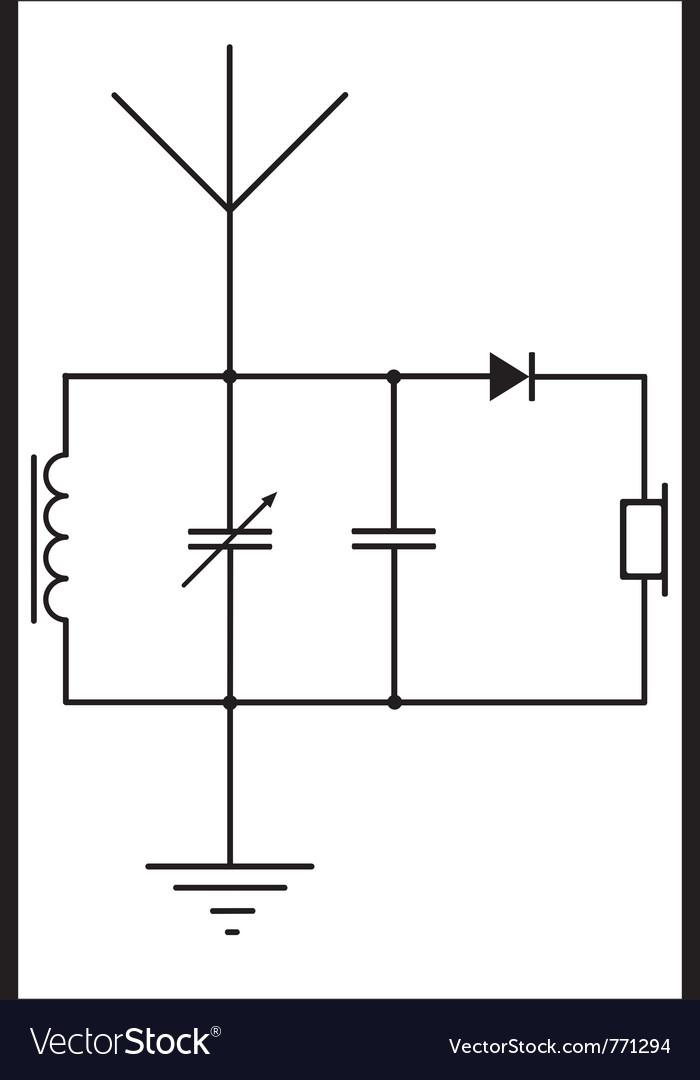 Detector receiver vector | Price: 1 Credit (USD $1)