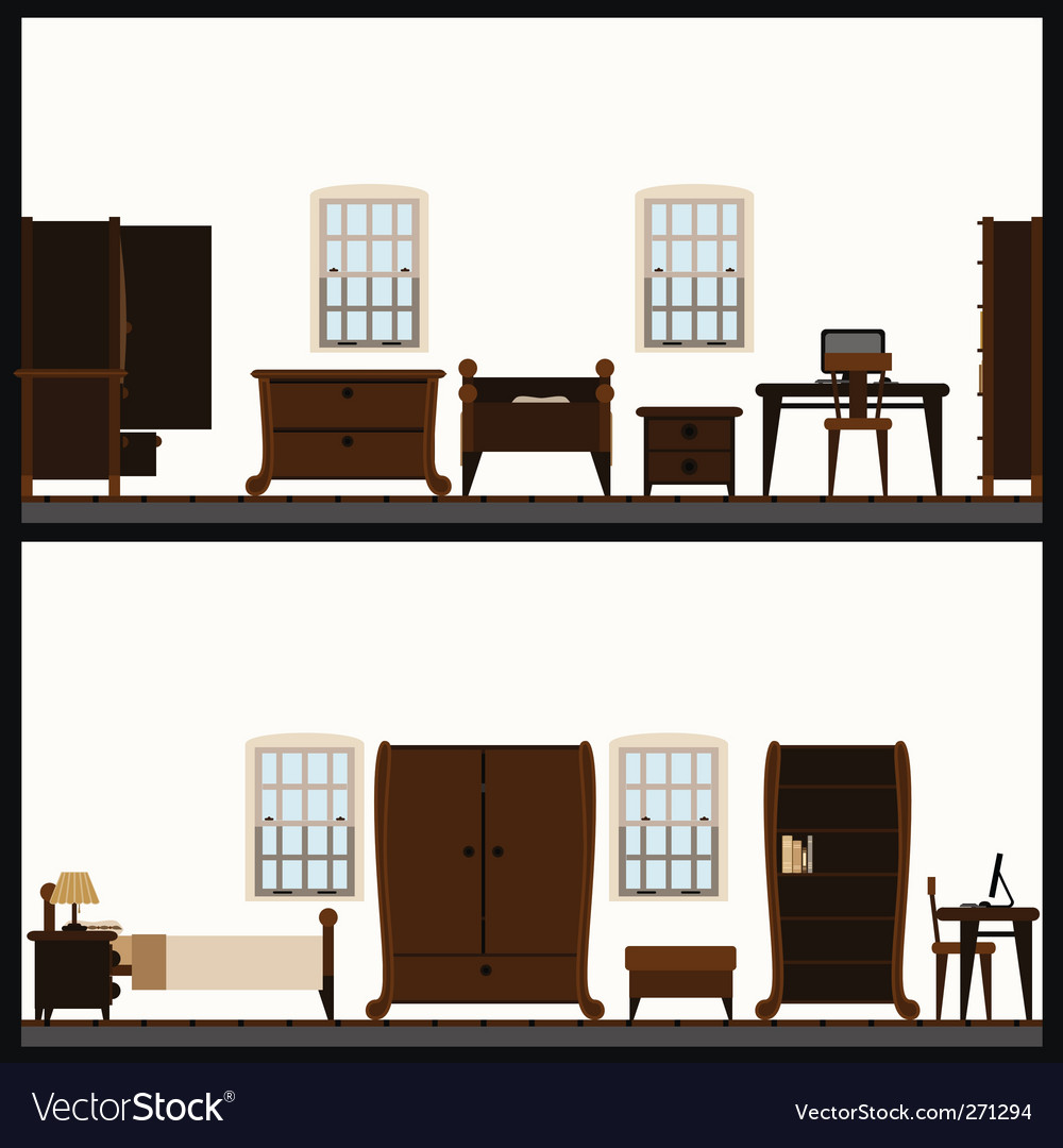 Furniture vector | Price: 1 Credit (USD $1)