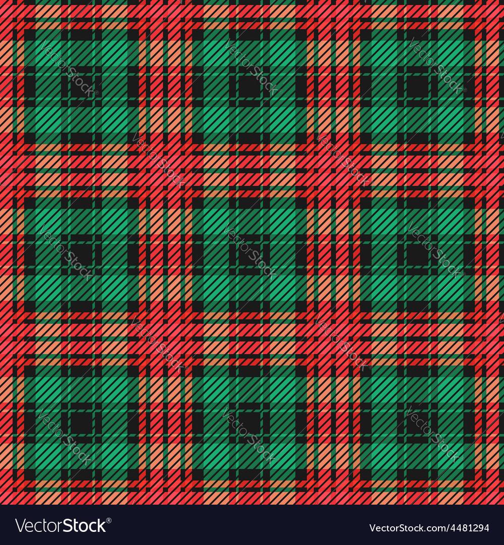 Seamless classic tartan pattern vector | Price: 1 Credit (USD $1)