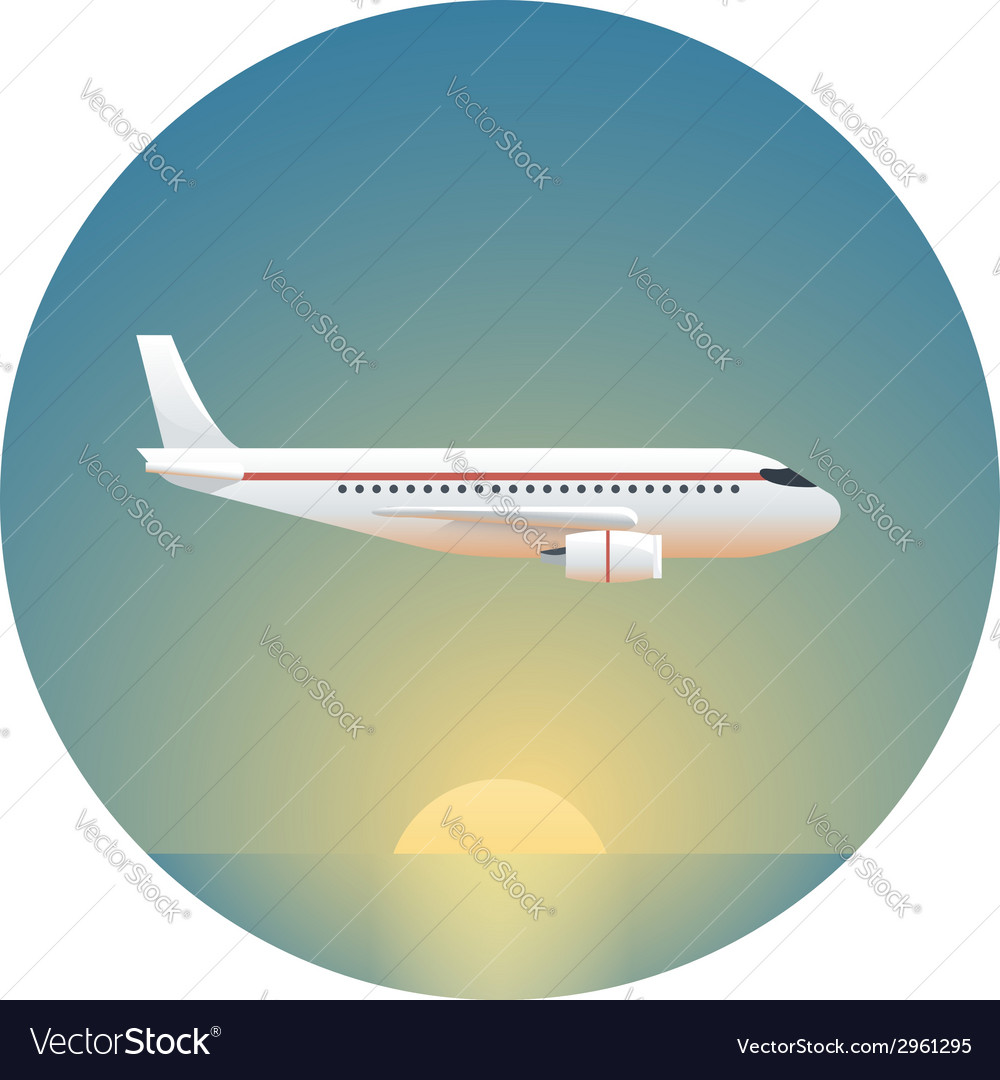 Airliner detailed vector | Price: 1 Credit (USD $1)