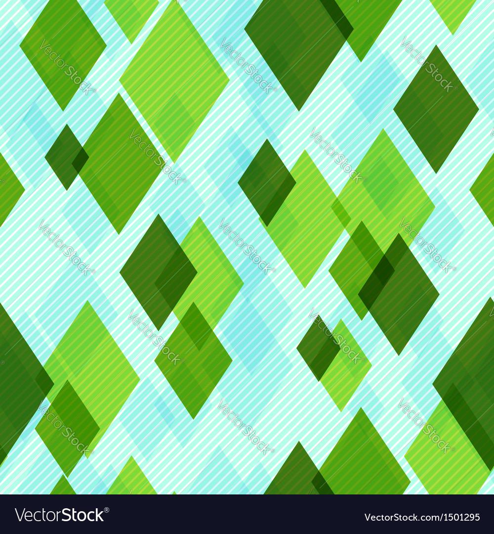 Modern diamonds seamless pattern vector | Price: 1 Credit (USD $1)