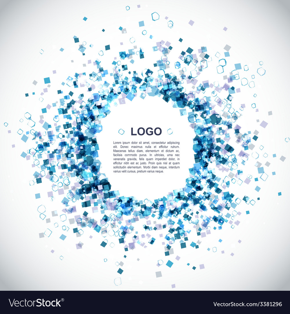 Modern blue background vector | Price: 1 Credit (USD $1)