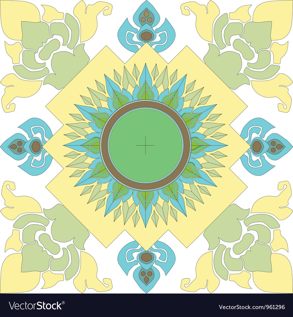 Thai pattern graphic vector   Price: 1 Credit (USD $1)