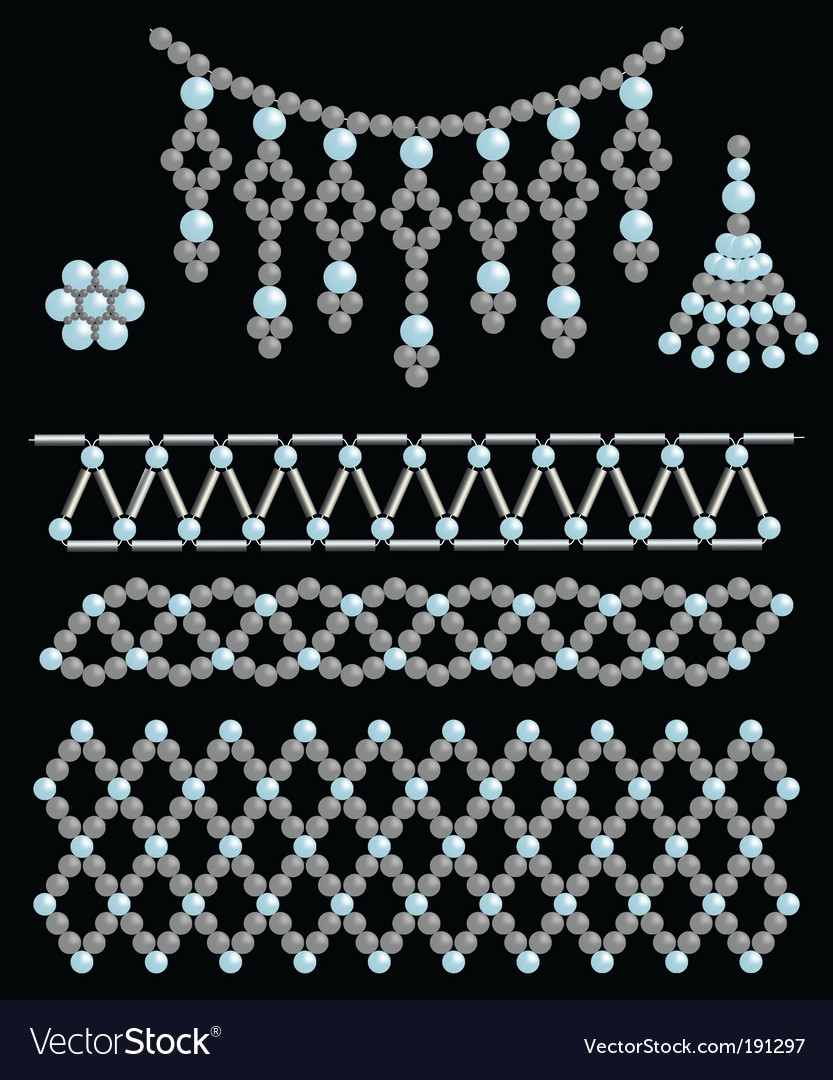 Bead adornments vector | Price: 1 Credit (USD $1)