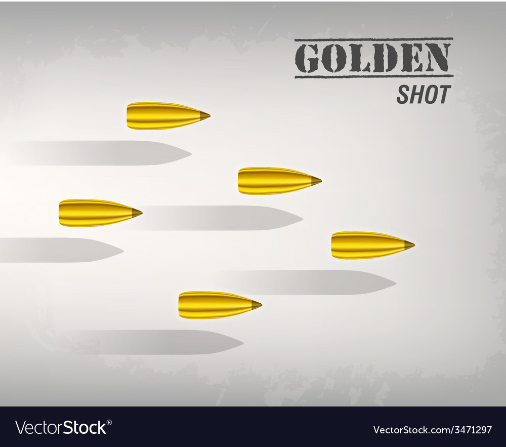 Bullet background concept vector | Price: 1 Credit (USD $1)