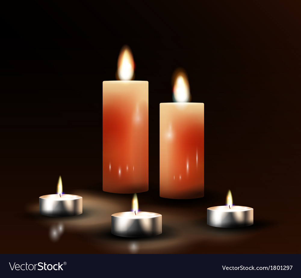 Candles vector   Price: 1 Credit (USD $1)