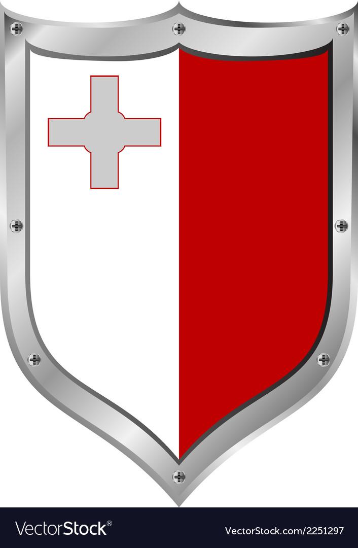 Malta flag button vector   Price: 1 Credit (USD $1)