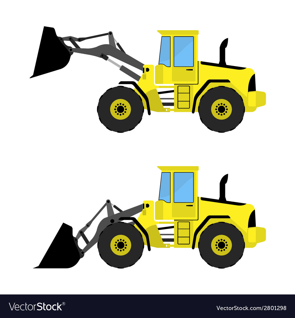Front loader vector | Price: 1 Credit (USD $1)