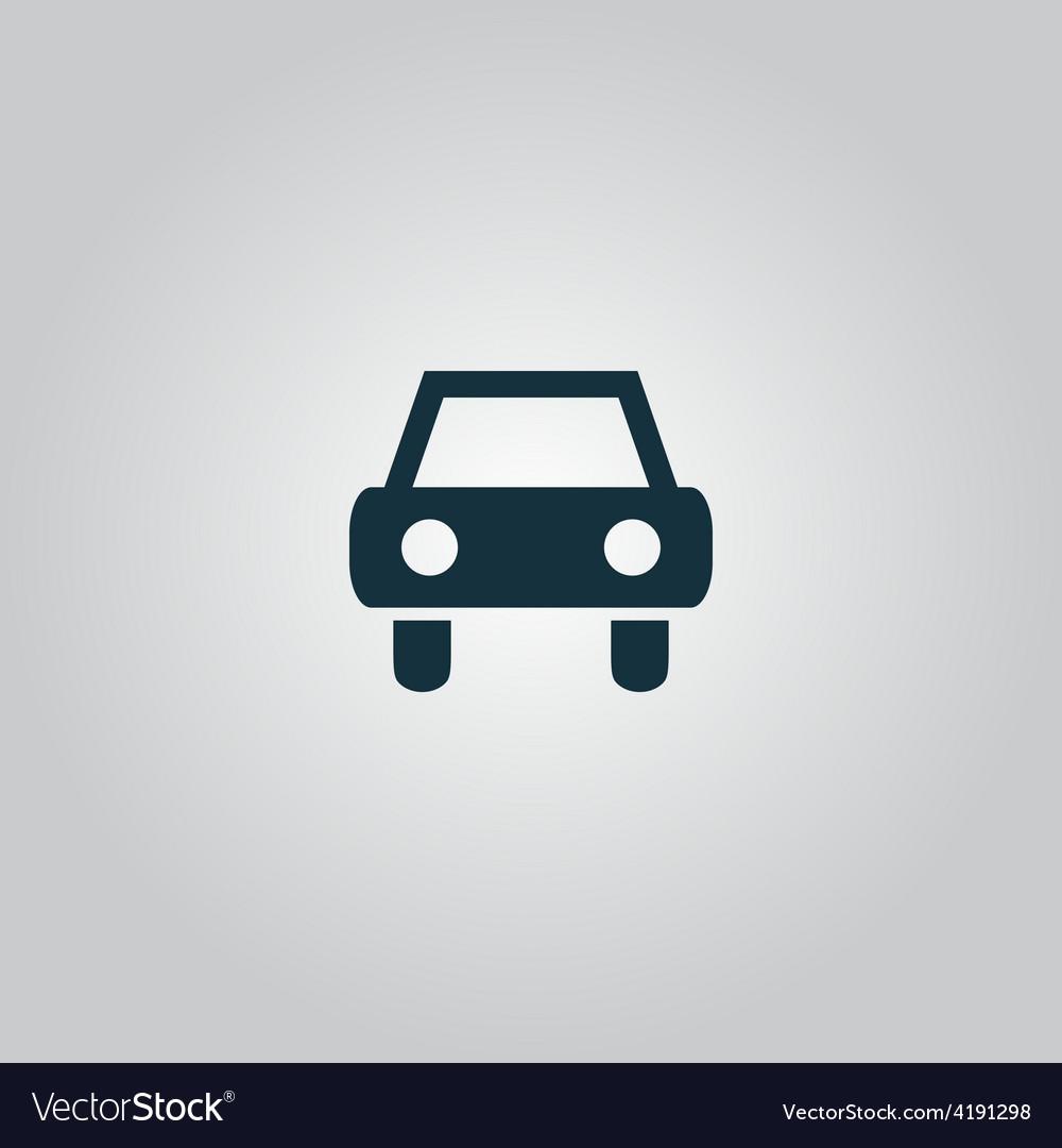 Old car icon vector | Price: 1 Credit (USD $1)