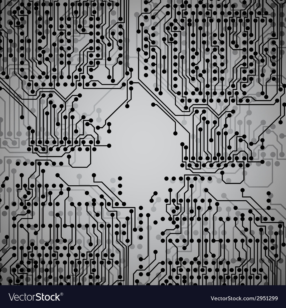 Microchip background electronics circuit eps10 vector | Price: 1 Credit (USD $1)