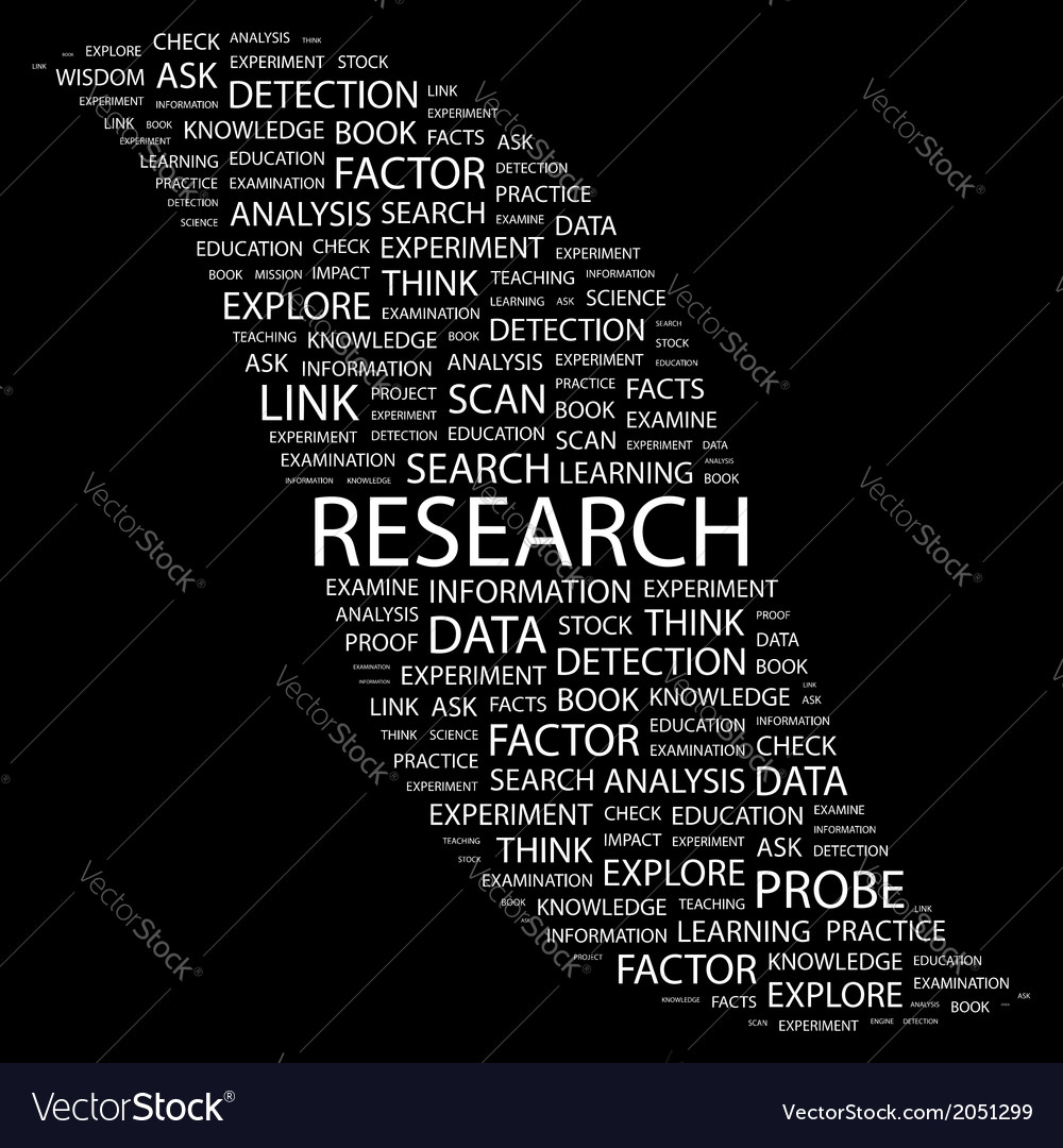 Research vector | Price: 1 Credit (USD $1)