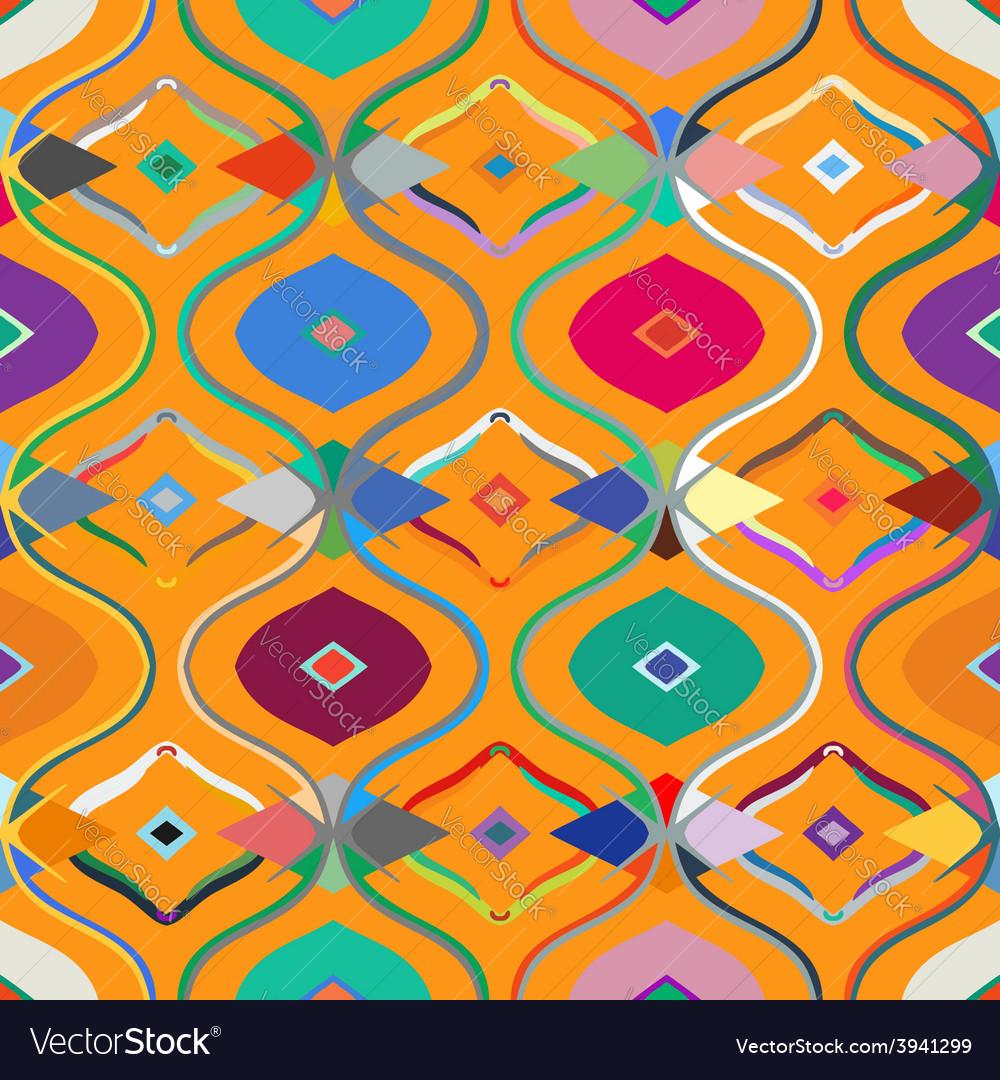 Seamless ethnic pattern vector | Price: 1 Credit (USD $1)
