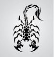 Tribal scorpions vector