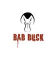Bad duck design template vector