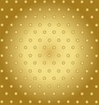 Abstract technology background with gold metal vector