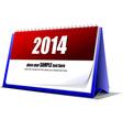 Al 0707 desk calendar vector