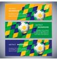 Brazil banners vector