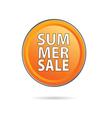 Summer sale icon vector