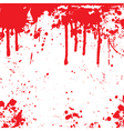 Blood splatter background vector