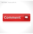 Comment button template vector