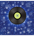 Star music background vector
