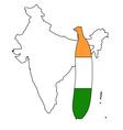 Banana of india vector