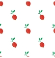 Seamless pattern with cranberry vector