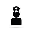 Nurse symbol vector