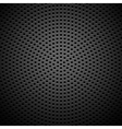 Circle perforated carbon speaker grill texture vector