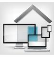 Home concept vector