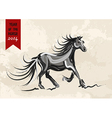 Chinese new year of horse 2014 vector