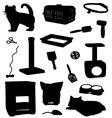 Cat accessories vector