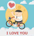 Miracle of love vector