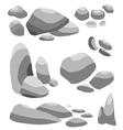 Grey stone vector