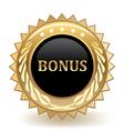 Bonus badge vector