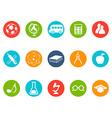 Education button icons set vector