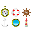 Sailing icons i vector