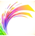 Rainbow colors abstract shining background vector