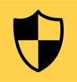 Security shield design vector