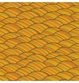 Seamless abstract hand drawn pattern waves vector