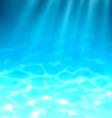 Ocean underwater template vector
