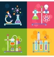 Chemistry design concepts vector