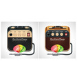 guitar amplifier icon vector