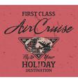 First class air cruise vector