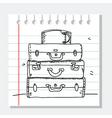 Travel sketch vector